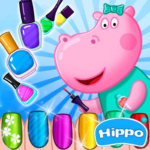 Hippo's Nail Salon: Manicure for girls APK MOD (Unlimited Money)