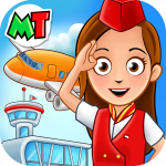 My Town : Airport. Free Airplane Games for kids APK MOD (Unlimited Money)