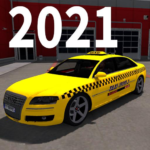 Real City Taxi Simulator 2021 : Taxi Drivers APK MOD (Unlimited Money)
