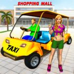 Shopping Mall Radio Taxi: Car Driving Taxi Games APK MOD (Unlimited Money)