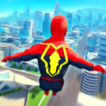 Super Heroes Fly: Sky Dance – Running Game  APK MOD (Unlimited Money) 1.0.1