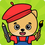 Coloring and drawing for kids  APK MOD (Unlimited Money) 3.107