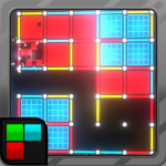 Dots and Boxes (Neon) 80s Style Cyber Game Squares APK MOD (Unlimited Money)
