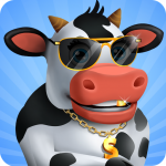 Idle Cow Clicker Games: Idle Tycoon Games Offline  APK MOD (Unlimited Money) 3.1.4