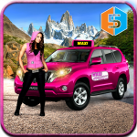 New York Taxi Duty Driver: Pink Taxi Games 2018 APK MOD (Unlimited Money)