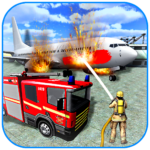 American Fire Fighter 2019: Airplane Rescue APK MOD (Unlimited Money)