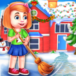 Christmas House Cleaning Game APK MOD (Unlimited Money)