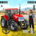 Farming Game 2021 – Free Tractor Driving Games APK MOD (Unlimited Money)