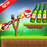 Knock Down Bottles 321 :Ball Hit Cans & Shoot Down APK MOD (Unlimited Money)