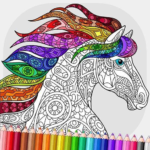 Relaxing Adult Coloring Book APK MOD (Unlimited Money)