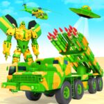 US Army Robot Missile Attack: Truck Robot Games APK MOD (Unlimited Money)