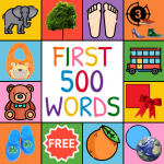 First Words Flashcards for baby/toddler/kids APK MOD (Unlimited Money)
