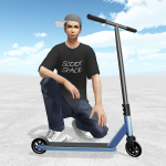 Scooter Space  APK MOD (Unlimited Money) 1.011