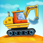 Car games for kids: building and hill racing APK MOD (Unlimited Money)