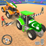 Real Tractor Truck Driving Derby Games APK MOD (Unlimited Money)